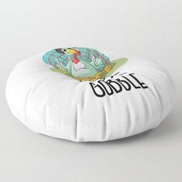 Thanksgiving Turkey Gobble Gobble Floor Pillow