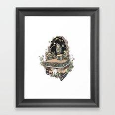 the priest Framed Art Print