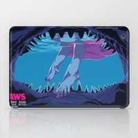 jaws iPad Cases featuring JAWS by Mike Wrobel