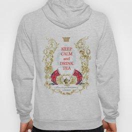 Keep calm and drink tea Hoody