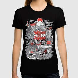 welcome to japan illustration T-shirt