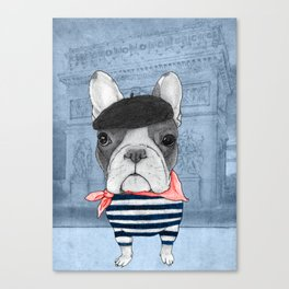 French Bulldog. Canvas Print