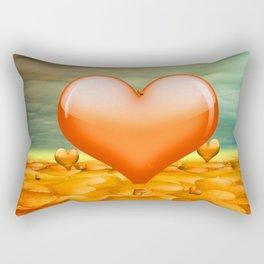 Heartrain Rectangular Pillow