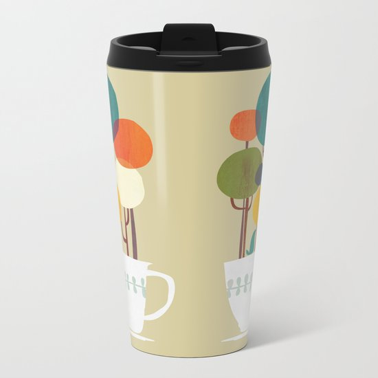 Life in a cup Metal Travel Mug