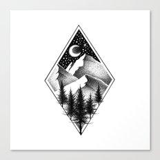NORTHERN MOUNTAINS III Canvas Print