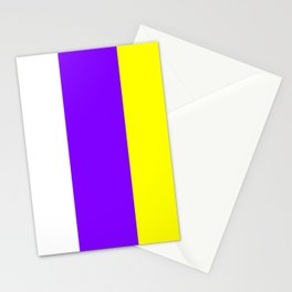 flag of canary islands 2b -canaries,canary,atlantic,canarias,Canarian,canario,canaria,spain,spanish, Stationery Cards