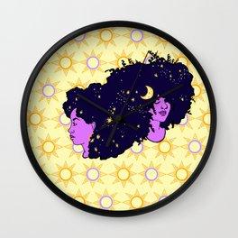 Sun Sisters 01 Wall Clock