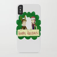 supernatural iPhone & iPod Cases featuring Supernatural by Brittany's Drawings and Doodles