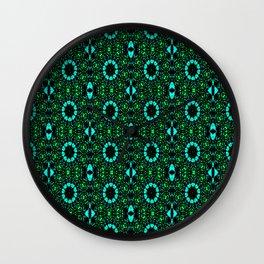 Pattern BC Wall Clock