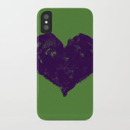Feel in Watercolour: Violet/Green iPhone Case