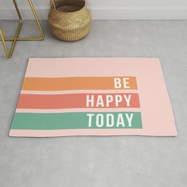 Be Happy Today Rug