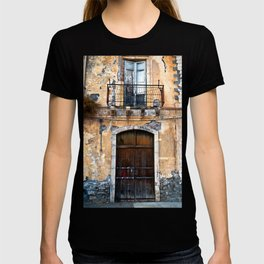Sicilian facade of Taormina T-shirt