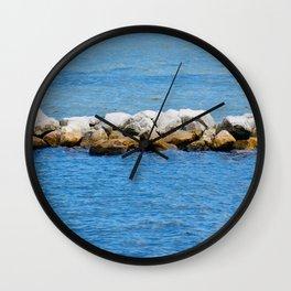 Port St. Joe Marina view 26 Wall Clock