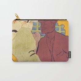 """Henri de Toulouse-Lautrec """"Flirt"""" Carry-All Pouch"""