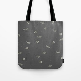 Cancer Pattern Tote Bag