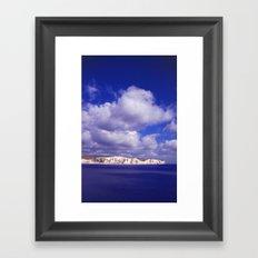 Bluebirds Over... Framed Art Print