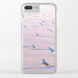 abstract surfing Clear iPhone Case