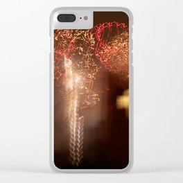 Electric 3 Clear iPhone Case