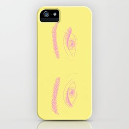 lookin at u babe iPhone Case