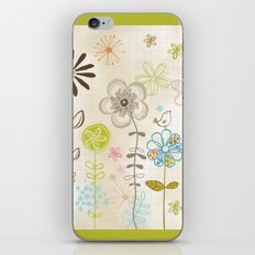 Belles Fleurs iPhone & iPod Skin