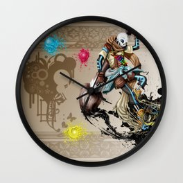 InkSans - Wallpaper Wall Clock
