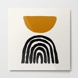 Sun Arch Balance Art Metal Print