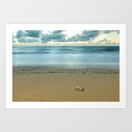 Message In A Bottle Art Print