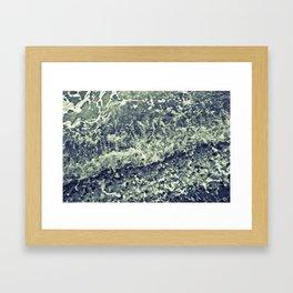 Sideshore Framed Art Print