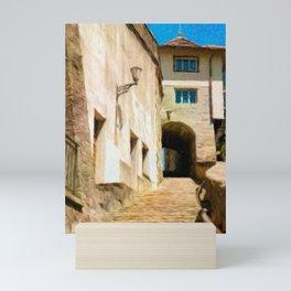Le Raccourci Mini Art Print