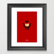 Scarlet Witch Framed Art Print