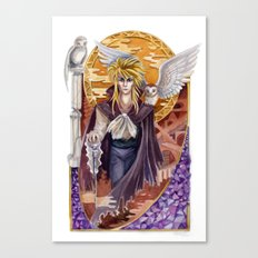 Beautiful Deceiver - Jareth of Labyrinth Canvas Print