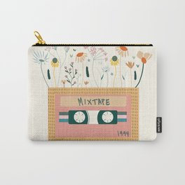 Nectarine Botanical Mixtape Carry-All Pouch