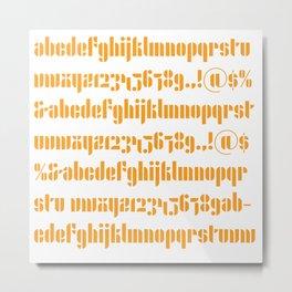 Bauhaus Joschmi Xants Metal Print