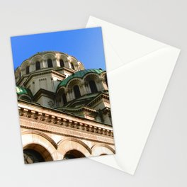 Domes of Alexander Nevsky Cathedral, Sofia Stationery Cards