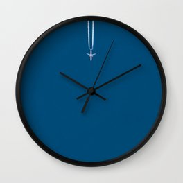 Jetset - Bluest Blue Wall Clock