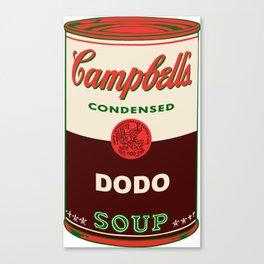 Dodo Soup Canvas Print