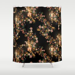 Angels are immortal Shower Curtain