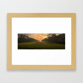 in the early morn' Framed Art Print