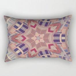 Paint chip kaleidoscope Rectangular Pillow