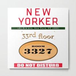 Room 3327 Metal Print