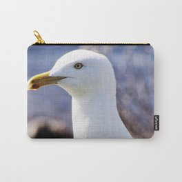 A Portrait of a Gull Carry-All Pouch