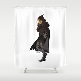 DA crew Zevran Shower Curtain