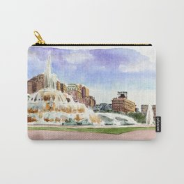 Buckingham Fountain - Chicago Carry-All Pouch
