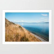 Island in the Ocean Art Print
