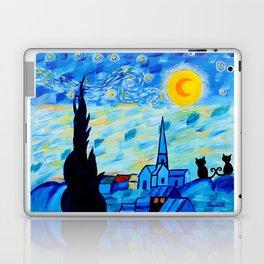Modern Starry Night Laptop & iPad Skin