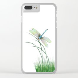 Peaceful Pause Clear iPhone Case