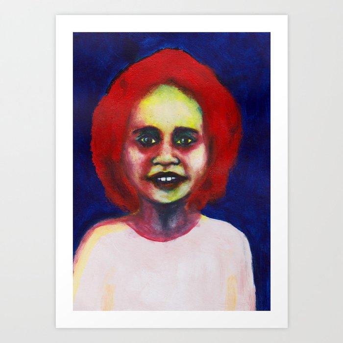 Les petites filles I.36 Art Print