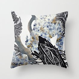 Nautical Nature Throw Pillow