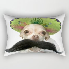 Mexican Chihuahua Rectangular Pillow