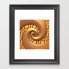 Gold on Gold Framed Art Print